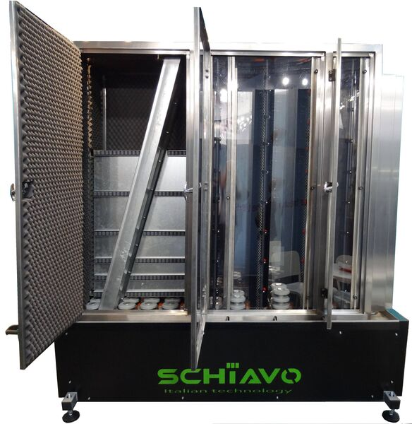 Produkt Glaswaschmaschinen der Firma Schiavo Glass Machinery Srl